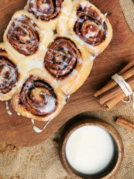 Picture of CINNAMON ROLLS (12 PCS)